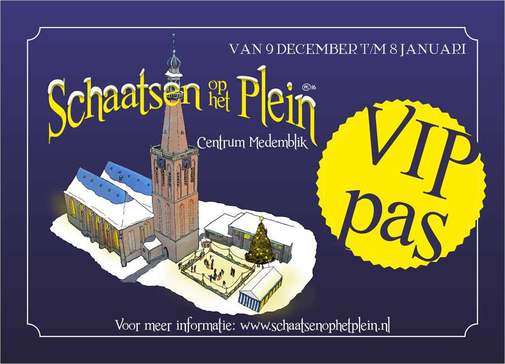 VIP-pas Schaatsen op het Plein